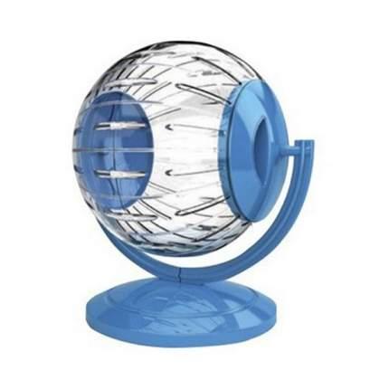 Колесо-шар для грызунов GEORPLAST Twistertoy прозрачный с подставкой пластик d=12,5см