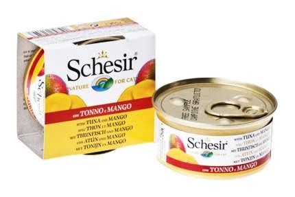 Консервы для кошек Schesir тунец и манго 75 г