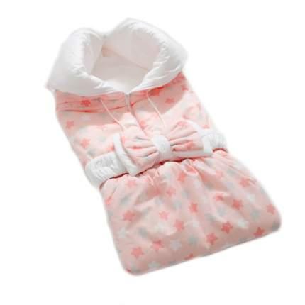 Одеяло-трансформер Евгения Весна Звездочки розовый