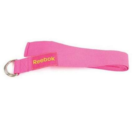 Ремень для йоги Reebok RAYG-10023MG, розовый