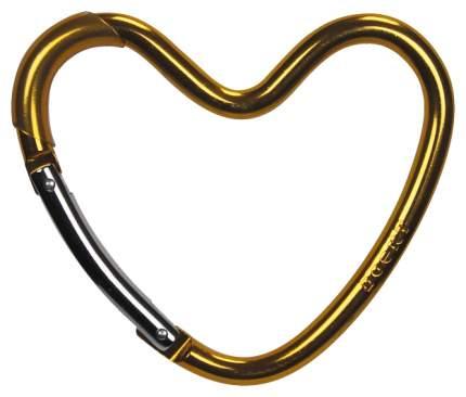 Крепление Dooky-Xplorys для сумок Dooky Heart Hook Золотистое