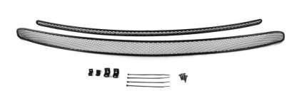 Сетка на бампер внешняя arbori для VW Amarok 2016-, 2шт., черная, 15 мм