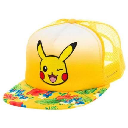 Бейсболка Bioworld Pokemon Pikachu Trucker Snapback