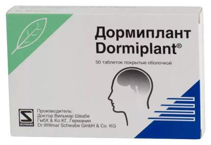 Дормиплант таблетки 50 шт.