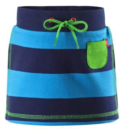 Reima kids юбка nisha синяя полоска р.68