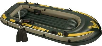Лодка Intex Seahawk 4 Set 3,51 x 1,45 м green