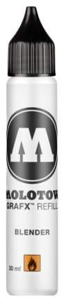 Заправка для маркеров Molotow GraFX Aqua MO699040 Черная 30 мл