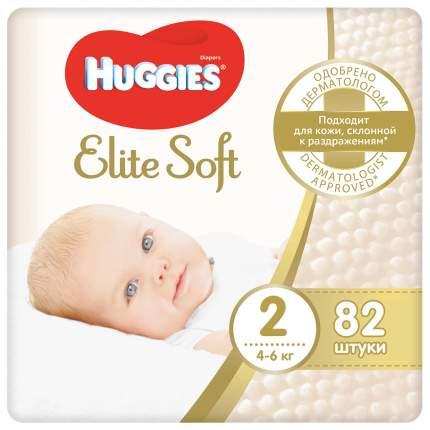 Подгузники Huggies Elite Soft 2 4-6кг 82шт