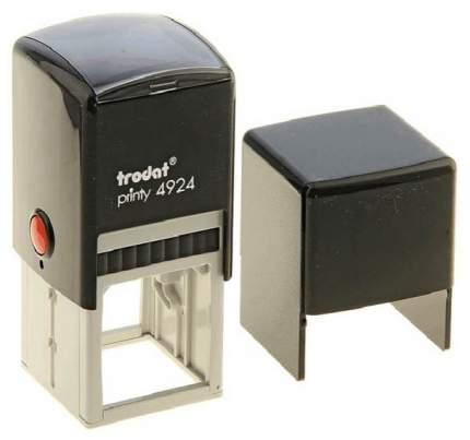 Оснастка для печати Trodat Printy 4924 Cover. Поле: 40х40 мм. Цвет корпуса: черный.