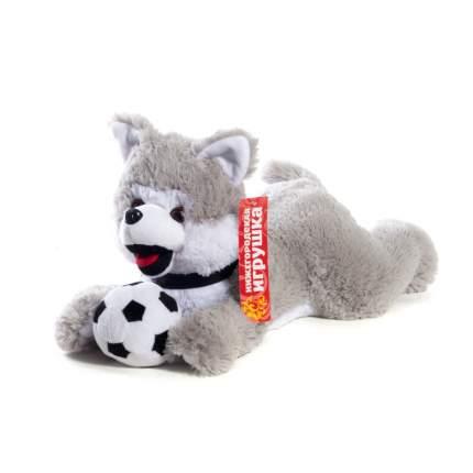 Мягкая игрушка Волк с мячом 68 см Нижегородская игрушка См-744-5