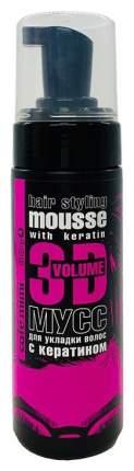 Мусс для волос Cafe mimi С кератином 150 мл