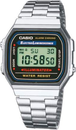 Наручные часы электронные мужские Casio Collection A-168WA-1