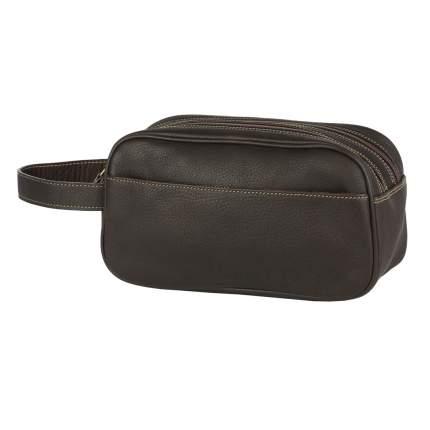 Клатч мужской кожаный Bufalo UJ-14 коричневый