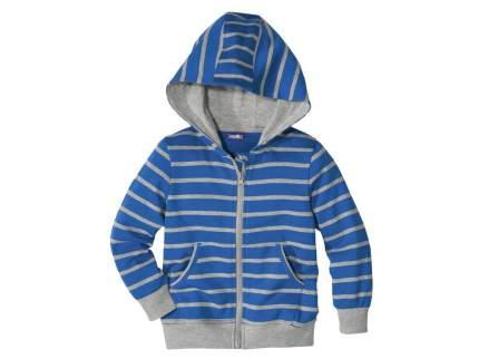 Толстовка для мальчика Lupilu голубая р.110-116