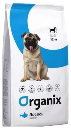 Сухой корм для собак Organix Adult Dog, лосось, 12кг