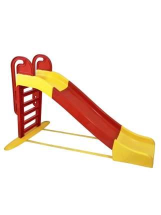 Горка для катания детей Doloni красно-желтый, 240х114 см