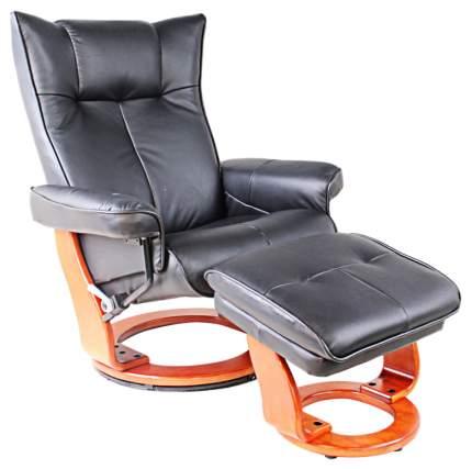 Кресло для гостиной Duorest 108,5х90х133,5 см, коричневый/черный