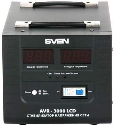 Однофазный стабилизатор Sven AVR-3000 LCD