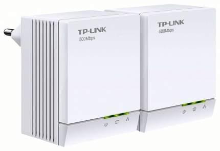 Комплект сетевых 2-портовых адаптеров Powerline AV500
