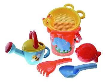 Набор игрушек для песка Gowi Слонёнок 6 предметов