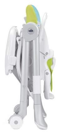 Стульчик для кормления Cam Campione белый с рисунком фотопленка