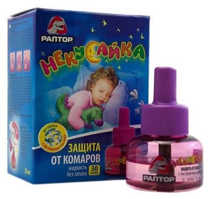 Жидкость от комаров для фумигатора Раптор некусайка 30 ночей 20 мл