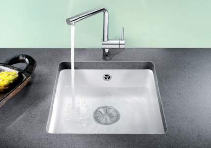 Мойка для кухни керамическая Blanco SUBLINE 375-U 516038 белый