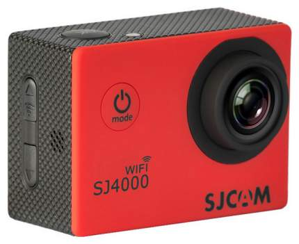 Экшн камера SJCAM SJ4000 Wi-Fi Red