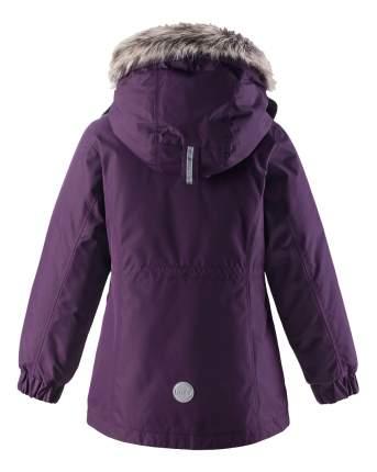 Парка Lassie зимняя для девочки фиолетовая р.140