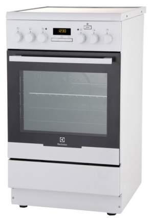 Электрическая плита Electrolux EKC95491MW White
