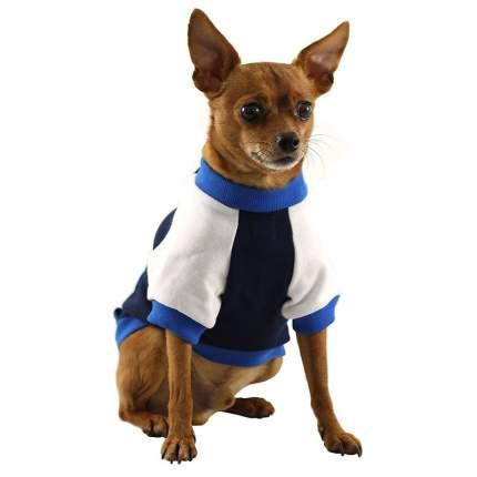 Толстовка для собак Triol размер XL мужской, синий, белый, длина спины 38 см