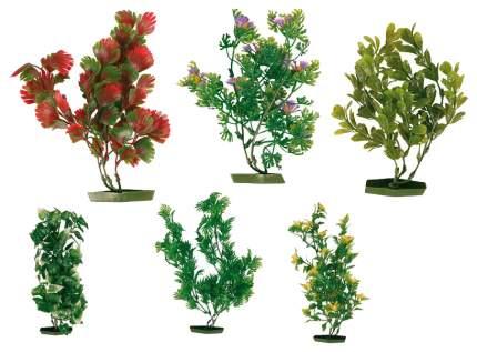 Искусственное растение для аквариума TRIXIE Plastic Plants, зеленое, 17см, 6шт