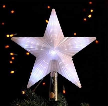 Верхушка для ели Snowhouse Звезда 22 см белая