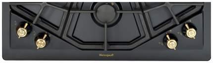 Встраиваемая варочная панель газовая Weissgauff HGRG 641 ANR Black
