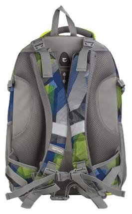 Рюкзак городской Tiger Family синий/зеленый