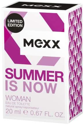 Туалетная вода Mexx Summer is Now Woman 20 мл