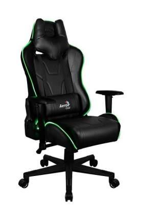 Игровое кресло AeroCool AC220 AIR RGB, черный