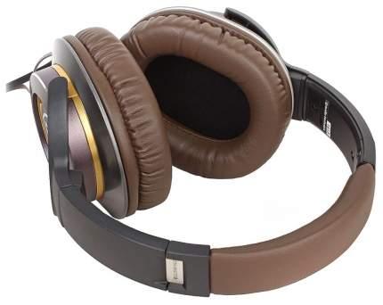 Наушники Audio-Technica ATH-WS770IS Black/Brown