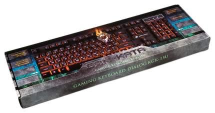 Игровая клавиатура Dialog Gan-Kata KGK-15U White
