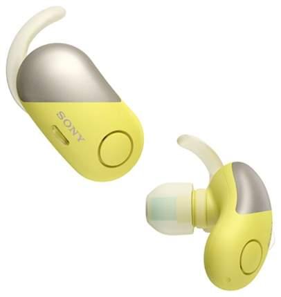Беспроводные наушники Sony WF-SP700N Yellow