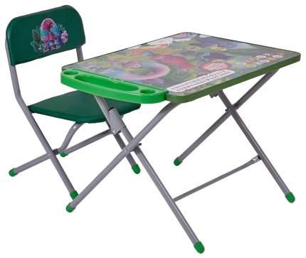 Комплект детской мебели Polini kids 103 Тролли, Зеленый