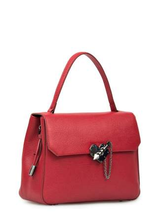 Сумка женская кожаная Eleganzza Z58-178 красная