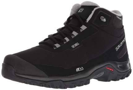 Ботинки мужские Salomon Shelter CS WP, black/black/frost gray, 9 UK