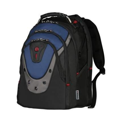 Рюкзак Wenger Ibex 600638 серый/синий/черный 23 л