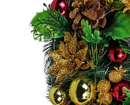 Венок новогодний Jewel Night 9208-2