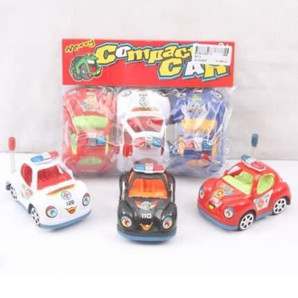 Набор машинок Merry Compact Car 3 шт. в ассортименте