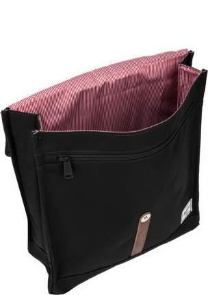 Рюкзак Herschel 10486-00001 black/tan synthetic leather 16 л