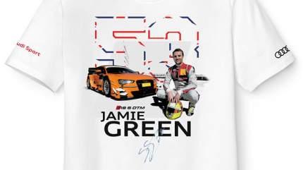 Футболка мужская Audi Quattro VAG 3131601802 S Dtm Green