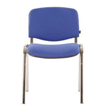 Офисный стул Brabix CF, хром/синий