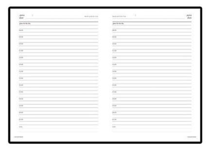 Ежедневник недатированный Альт «Leader» А6+ 136 листов Оранжевый